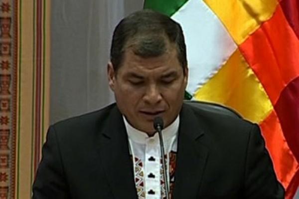 Correa Yasuni