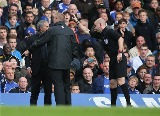 Jose Mourinho, Anthony Taylor