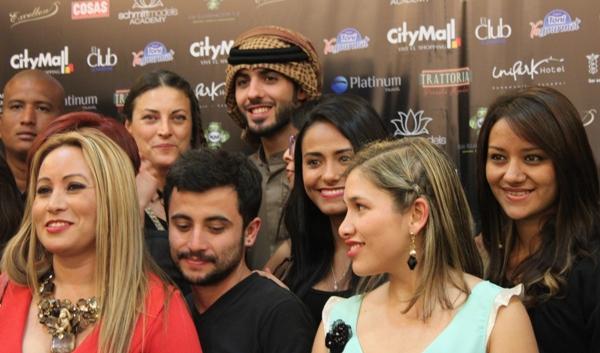 Omar con diseñadoras