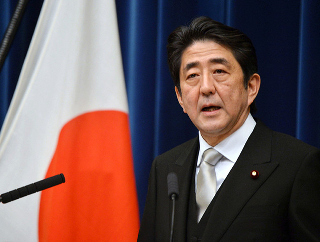 Shinzo Abe, primer ministro de Japón. Foto de Archivo: La República.