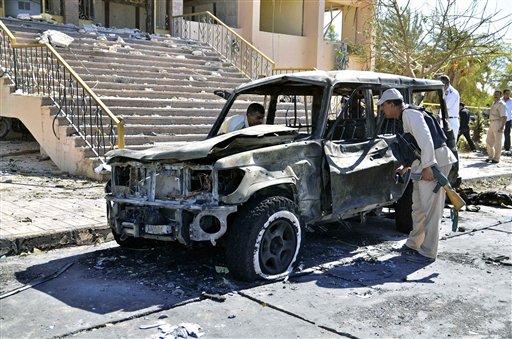 Coche Bomba en Egipto (AP Foto/Mostafa Darwish)
