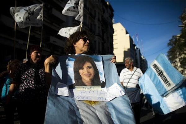ARGENTINA-FERNANDEZ SALUD