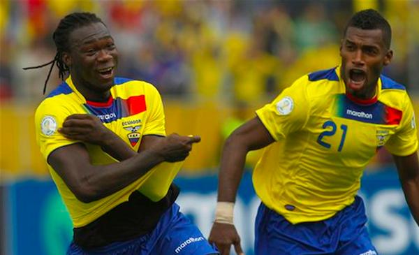 Felipao, el 26 de marzo de 2013, en partido contra Paraguay.