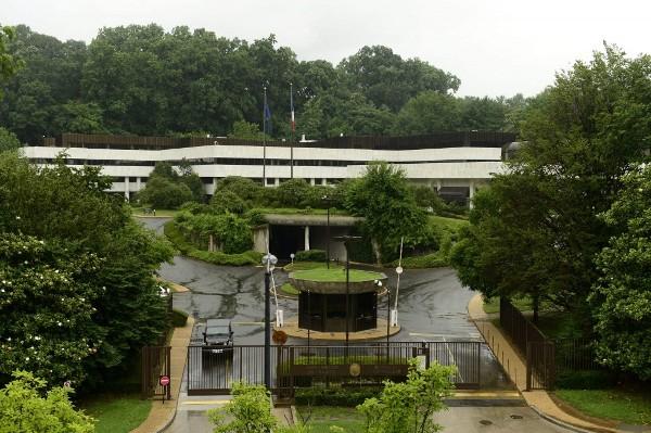 embajada francesa en washington