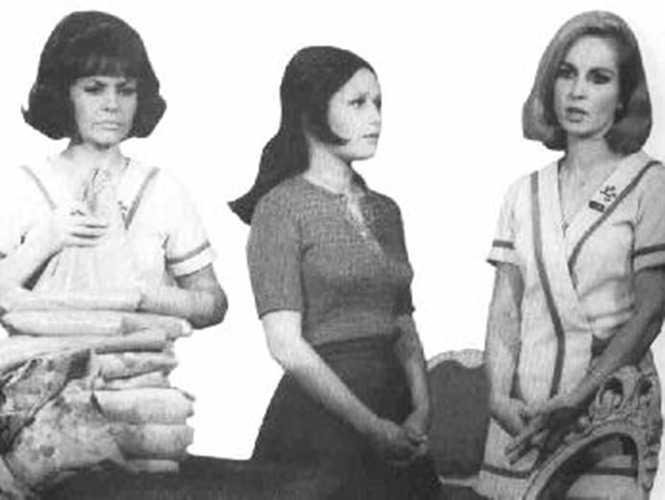 """Con Silvia Derbez e Irán Eory en """"El amor tiene cara de mujer""""."""