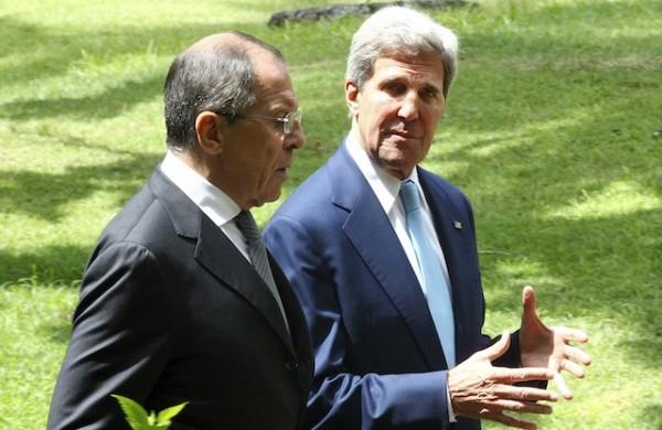 John Kerry y Sergey Lavrov. Foto de Archivo: La República.