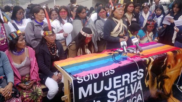 mujeres amazonia
