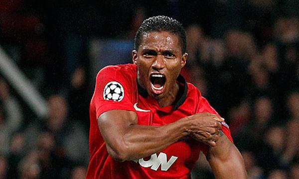 Foto de archivo. Antonio Valencia con la camiseta del Manchester United. Foto EFE.