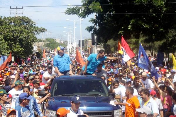 Capriles marcha