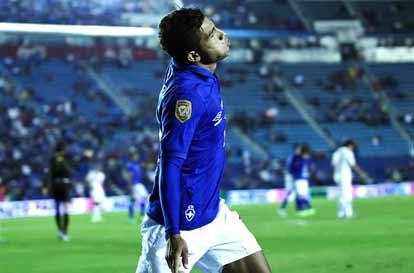 Joao Rojas mexico cruz azul