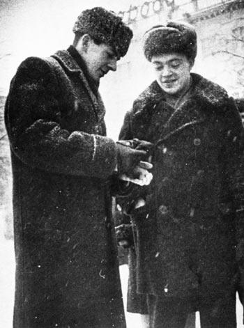 Lee Harvey Oswald en Rusia.