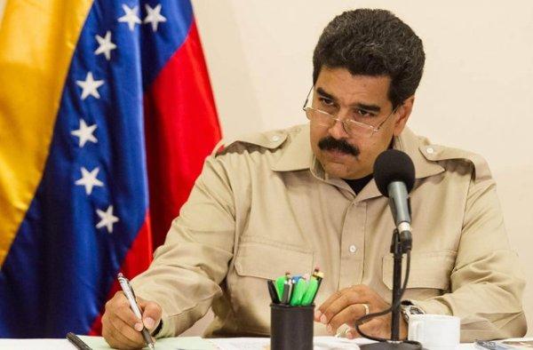 Maduro bloqueo web