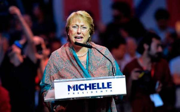 CHILE-ELECTION-FINAL RALLY-BACHELET