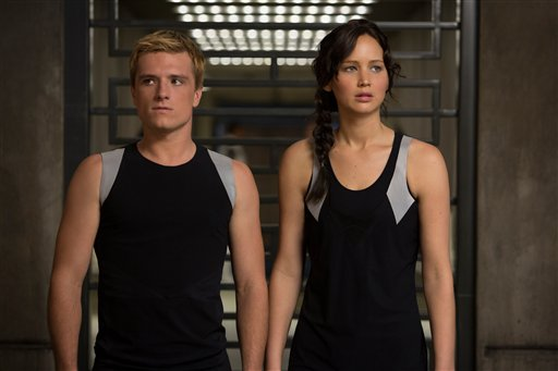 Josh Hutcherson Jennifer Lawrence