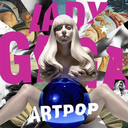 """La portada del disco """"ARTPOP"""" de Lady Gaga en una imagen proporcionada por Interscope Records. (Foto AP/Interscope Records)"""