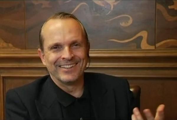 Miguel Bosé. Foto de archivo