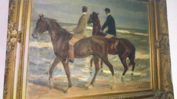 La obra de un pintor alemán, sin identificar