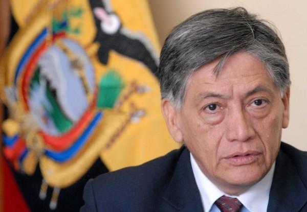 El embajador ecuatoriano en España, Miguel Calahorrano.
