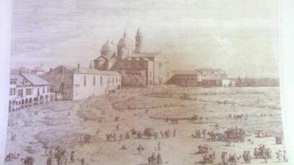 Una obra del italiano Canaletto, sin título