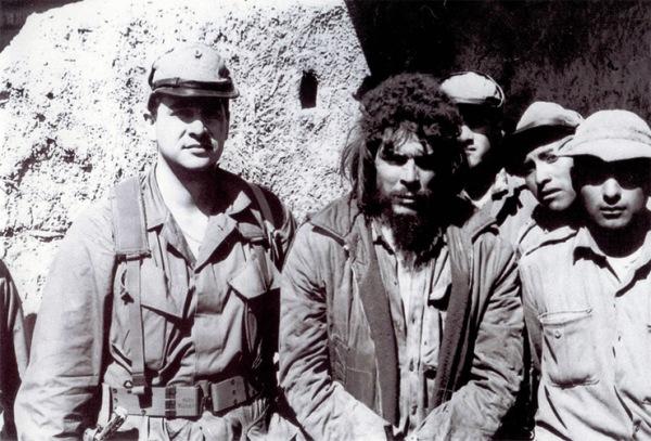 """El """"Che"""" capturado en Bolivia."""