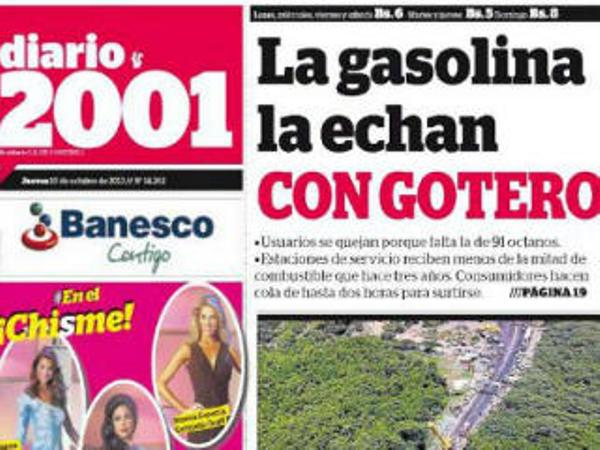 Portada del Diario 2001