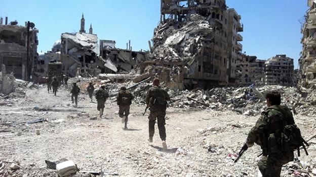ejercito sirio homs