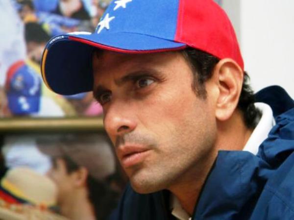 Henrique Capriles. Foto de Archivo: La República.