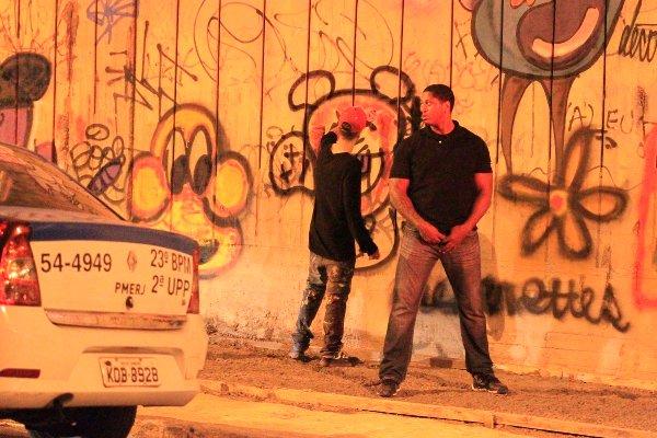 justin graffiti