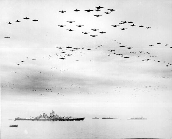 Ataque a Pearl Harbor, el 7 de Diciembre de 1941.