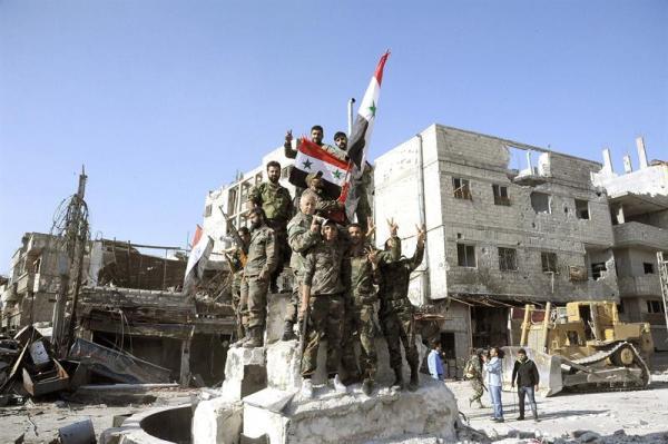 soldados sirios Alepo