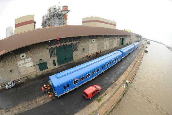 trenes chinos