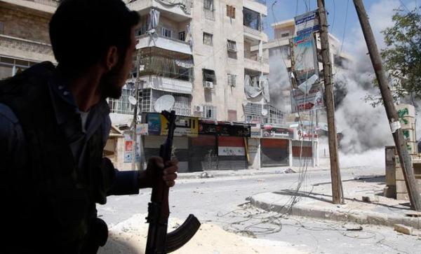 Alepo bombardeos
