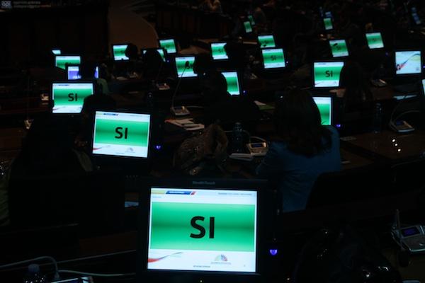 Imagen de archivo de la Asamblea Nacional, correspondiente al 22 de mayo de 2013. FOTO API / JUAN CEVALLOS