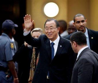 Ban Ki-Moon. (AP Foto/Themba Hadebe