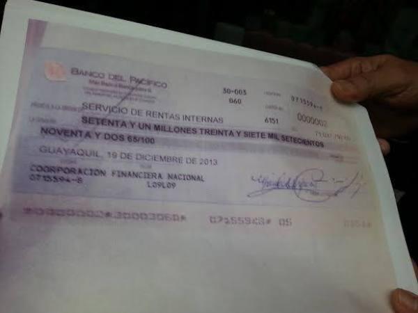 Los abogados de Exportadora Bananera Noboa indicaron que el viernes ya se habría completado el pago de la haciendo La Clementina, por parte de los trabajadores.