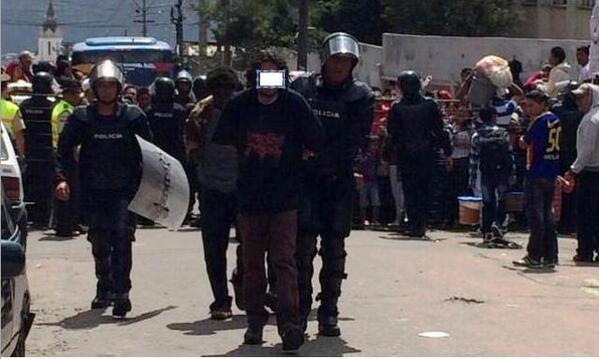Más de 30 prófugos han sido recapturados, según la Policía.