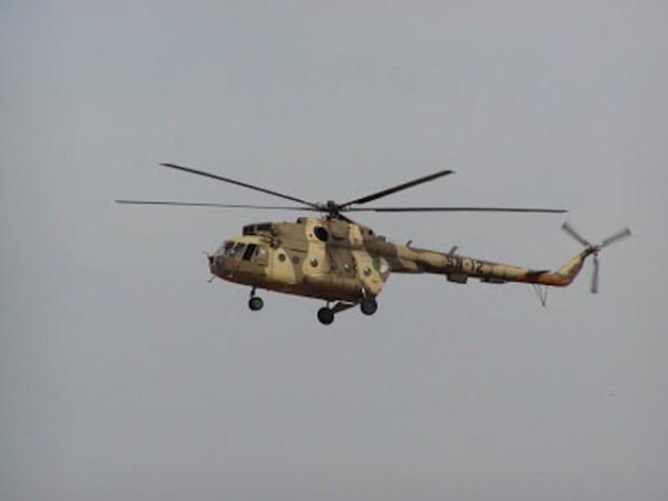 Helicóptero. Foto de Archivo, La República.