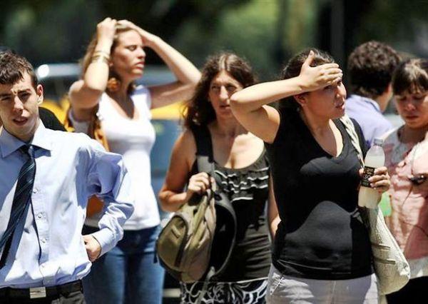 Ola de calor en Argentina. Foto de Archivo, La República.