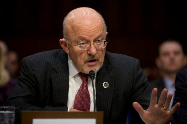 El director de Inteligencia Nacional James Clapper testifica en el Capitolio, el miércoles 29 de enero de 2014, en  Washington. (Foto AP/Pablo Martínez Monsiváis)
