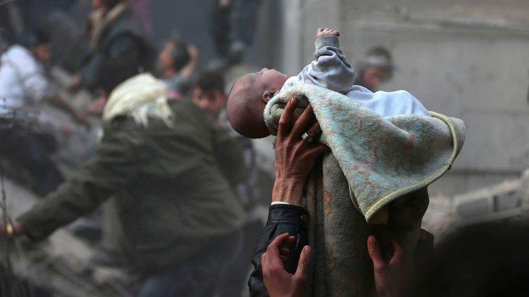 bebé siria
