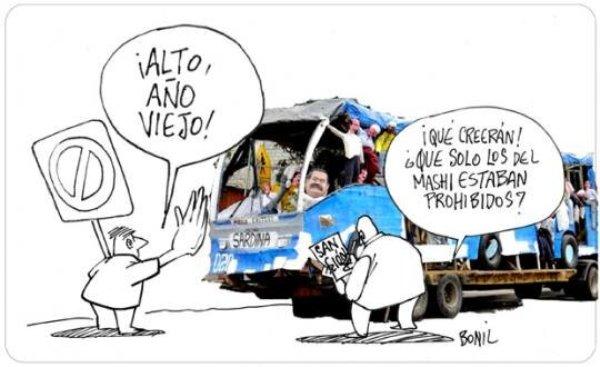 Caricatura de Bonil, publicada el 7 de enero de 2014.