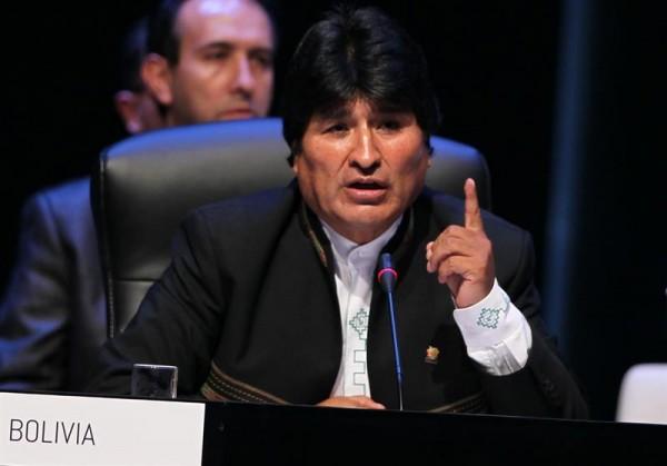 Evo Morales. Foto de Archivo: La República.