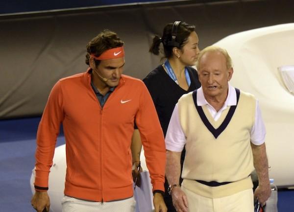 Roger Federer, Rod Laver