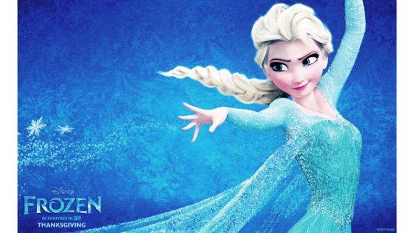 """Elsa de la película de Disney """"Frozen"""""""