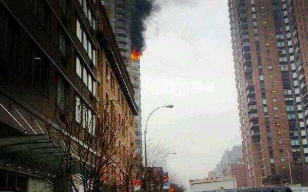 manhattan incendio
