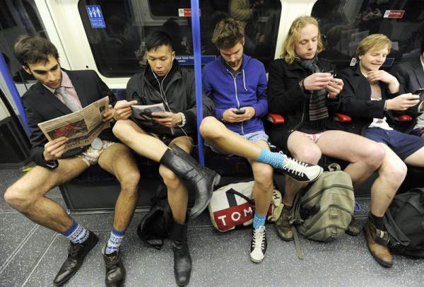 El metro, en Nueva York.