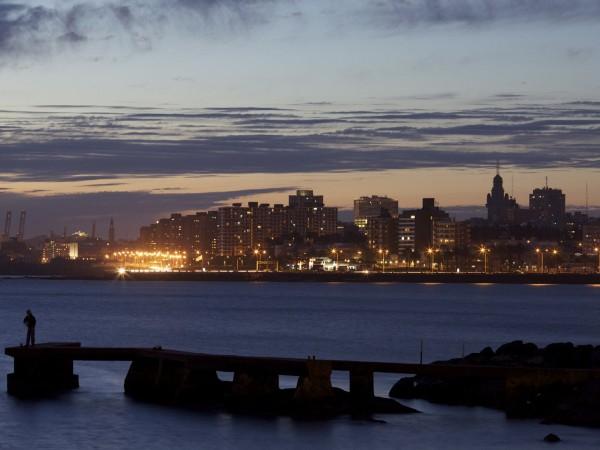 Montevideo, capital de Uruguay. Foto de Archivo, La República.