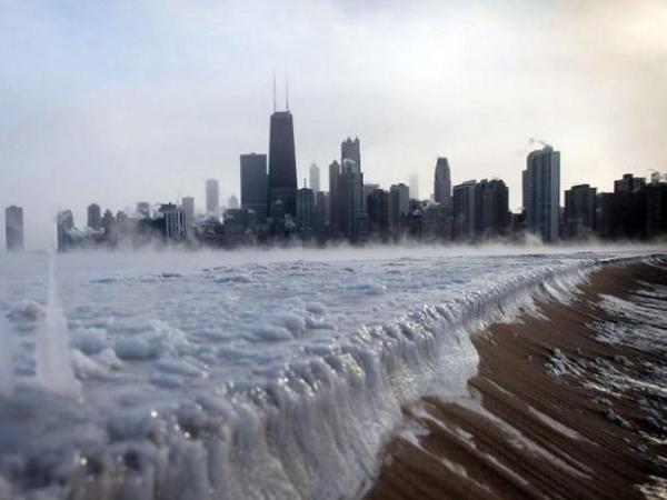 nueva york frío polar
