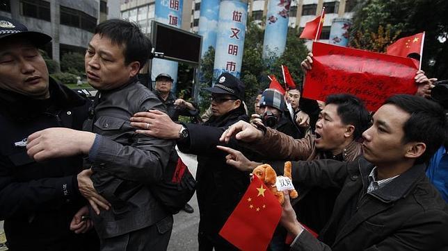 protesta china