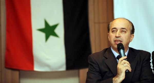 One Syrian opposition leader Ahmed Ramad